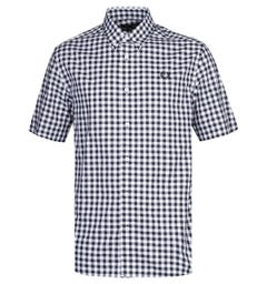 Fred Perry White & Navy Gingham Shirt