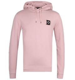 MA.Strum Cassis Pink Overhead Training Hoodie