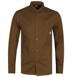 Barbour Beacon Brown Double Pocket Overshirt