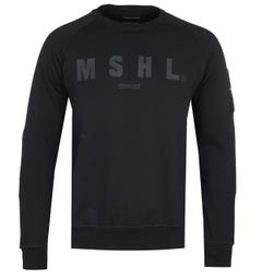 Marshall Artist Hybrid Tech Black Sweatshirt