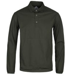 Barbour Beacon Ripstop Popover Forest Green Overshirt