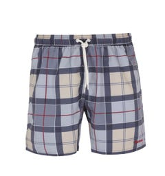 Barbour Tartan Grey Swim Shorts