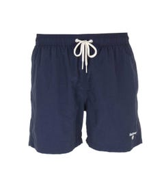 "Barbour 5"" Navy Logo Swim Shorts"