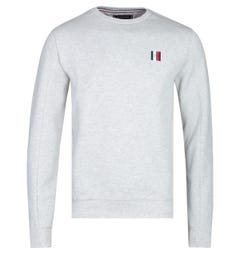 Tommy Hilfiger Modern Essentials Grey Marl Logo Sweatshirt