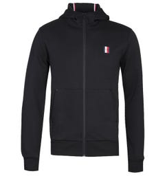 Tommy Hilfiger Modern Essentials Black Zip-Through Hoodie