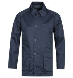 Barbour Bedale White Label Waterproof Navy Jacket