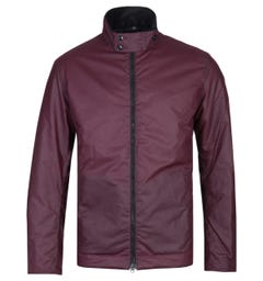 Barbour Barnby Merlot Red Waxed Jacket