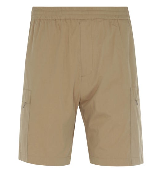 Norse Projects Luther Utility Khaki Packable Shorts