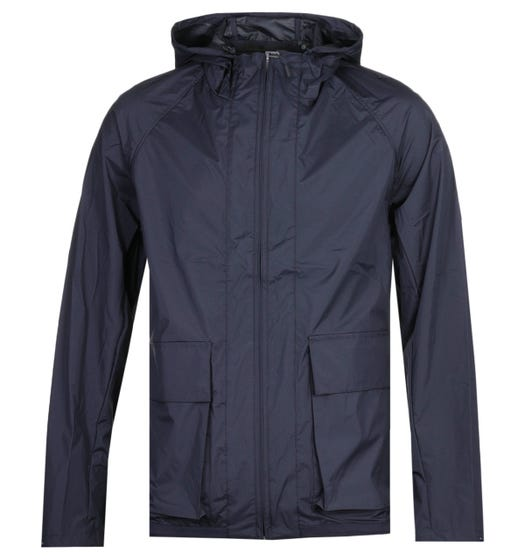 Norse Projects Kalle Sport Navy Hooded Jacket