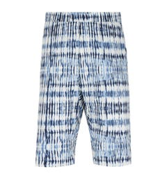 Barena Graphic Print Blue Argo Shorts