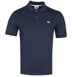 Lacoste Live Slim Fit Navy Polo Shirt