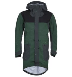 7L 413 Rain Layer Forest Green Waterproof Jacket