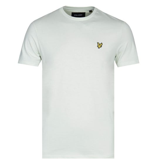 Lyle & Scott Crew Neck Short Sleeve Cloud Mint Green T-Shirt