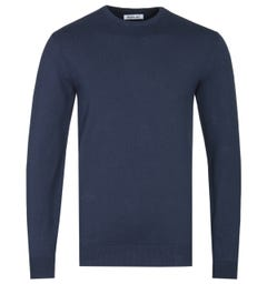 Replay Hyperflex Navy Knitted Sweater