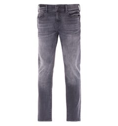 True Religion Rocco Relaxed Skinny Black Wash Jeans