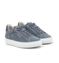 Android Homme Suede Carbon Trainers - Grey