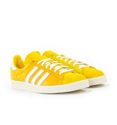 Adidas Campus 80s Trainers - Gold, White & Yellow