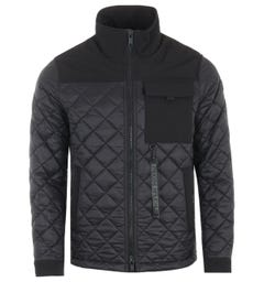 Moose Knuckles Descendents Sustainable Quilted Jacket - Black