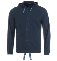 PS Paul Smith Hooded Jacket - Blue
