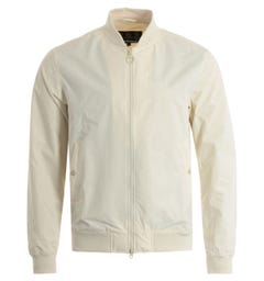 Barbour Yond Casual Bomber Jacket - Chalk