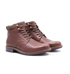 Barbour Wolsingham Brown Derby Boots
