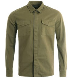 Barbour Moorhouse Overshirt - Olive