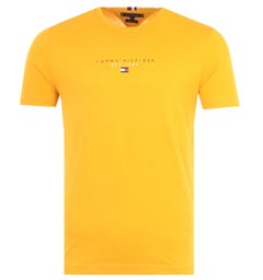 Tommy Hilfiger Essential Logo T-Shirt - Courtside Yellow
